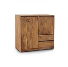 Wymiary: Szerokość: 100 cm Wysokość: 100 cm Głębokość: 45 cm  Materiał: Drewno: Palisander teak
