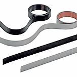 SlideLine M Zestaw Dekoracyjny o długości 4000 mm. do Profilu o grubości 18, 19 w kolorze srebrnym  Zestaw zawiera wszystkie niezbędne elementy do...