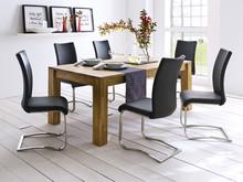 Stół dębowy rozkładany PAOLA to piękno, nowoczesność oraz elegancja. Drewno jako materiał naturalny opiera się wszelkim modom i trendom. Stoły...