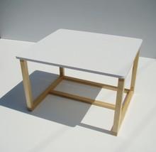 Dwufunkcyjny skandynawski stolik/biurko dla dzieci - regulowane
