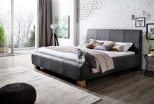 Łóżko FANCY to duże i przytulne łóżko z charakterystycznymi, precyzyjnymi przeszyciami. Elegancki, ekskluzywny charakter, wpływający na nowoczesny...