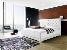 Ekskluzywne tapicerowane łóżko PASSION jest zarazem nowoczesne oraz przytulne. Obicie zostało wykonane z ekoskóry, łóżko posiada ozdobne przeszycia...