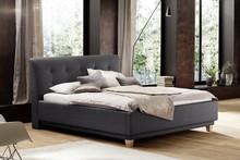 Ekskluzywne tapicerowane łóżko ROSATO jest zarazem nowoczesne oraz przytulne. Obicie zostało wykonane z wysokogatunkowej ekoskóry, łóżko posiada...