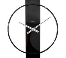 """Zegar 3195 ZW """"Carl"""" zaprojektowany przez NeXtime, wyposażony jest w mechanizm płynący zasilany za pomocą baterii typu AA. Zegar wykonany z..."""