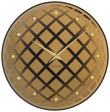 """Zegar 8185 CO """"Pendula Round"""" zaprojektowany przez Jette Scheib, wyposażony jest w mechanizm płynący zasilany za pomocą baterii typu AA. Zegar..."""