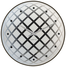 """Zegar 8185 ZI """"Pendula Round"""" zaprojektowany przez Jette Scheib, wyposażony jest w mechanizm płynący zasilany za pomocą baterii typu AA. Zegar..."""