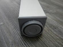 Noga Meblowa Kwadratowa 60x60mm Wys.710mm. Kolor ALUMINIUM - Rejs