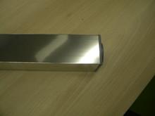 Noga Meblowa Kwadratowa 60x60 L 710mm.  Alum. Elektropoler - Rejs