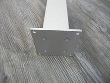 Noga Meblowa Kwadratowa 60x60 L 820mm.  Aluminium C-0 - Rejs