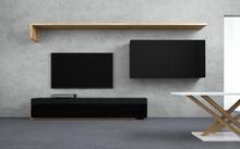LINIABASE THREE KORPUS PŁYTA MELAMINOWANA EGGER  To nowoczesne i minimalistyczne meble zaprojektowane z myślą o zastosowaniu w małych...