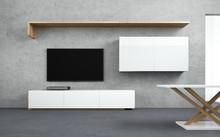 LINIABASE THREE KORPUS FORNIR  To nowoczesne i minimalistyczne meble zaprojektowane z myślą o zastosowaniu w małych pomieszczeniach. Mebelki te...