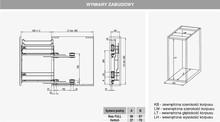 Kosze cargo Variant MULTI Cargo Na Ręczniki 15 PRAWE Efekt CHROM Hamulec - Rejs