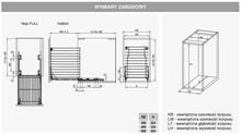 Wyposażenie szaf Variant MULTI Kosz Na Blieliznę 30 Efekt CHROM Hamulec Rejs - Rejs
