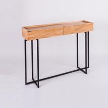 Konsola IKA - drewno Bukowe