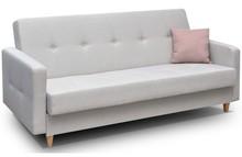 Cena dotyczy samej wersalki. Istnieje możliwość zamówienia dodatkowo foteli lub pufy.   WYMIARY głębokość: 90 cm szerokość: 215 cm...