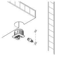 Złączki Montażowe Złączka Rafix TAB 20 S Tworzywo Sztuczne Białe Do Płyty 19 mm. - Häfele