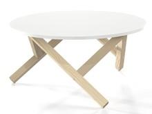 Inspirują nas kształty. Zwłaszcza te geometryczne. Dlatego konstrukcję stolika HEX oparliśmy na sześciokącie, wykorzystując jak zwykle lite drewno...