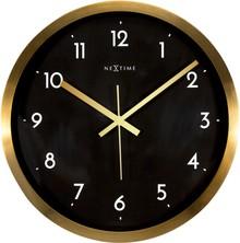 Zegar 2523 GB Arabic zaprojektowany przez NeXtime, wyposażony jest w mechanizm płynący zasilany za pomocą baterii typu AA. Zegar wykonany ze stali...