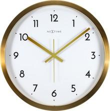 Zegar 2523 GW Arabic zaprojektowany przez NeXtime, wyposażony jest w mechanizm płynący zasilany za pomocą baterii typu AA. Zegar wykonany ze stali...