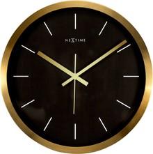 Zegar 2524 GB Stripe zaprojektowany przez NeXtime, wyposażony jest w mechanizm płynący zasilany za pomocą baterii typu AA. Zegar wykonany ze stali...