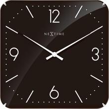 Zegar 3175 Basic Square Dome zaprojektowany przez NeXtime, wyposażony jest w mechanizm płynący zasilany za pomocą baterii typu AA. Zegar wykonany ze...