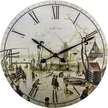 Zegar 3186 Portrait of Mrs Serizy zaprojektowany przez NeXtime, wyposażony jest w mechanizm płynący zasilany za pomocą baterii typu AA. Zegar wykonany z...