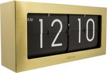Zegar 5198 GO Big Flip zaprojektowany przez NeXtime, wyposażony jest w mechanizm klapkowy zasilany za pomocą baterii R20. Zegar wykonany z metalu w w...