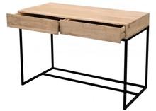 Biurko drewniane, loft, industrialne SoHo SH-11-MN