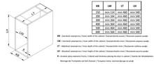 Kosze cargo Variant MULTI Cargo MINI Boczne 15 PRAWE Efekt CHROM PUSH-OPEN - Rejs