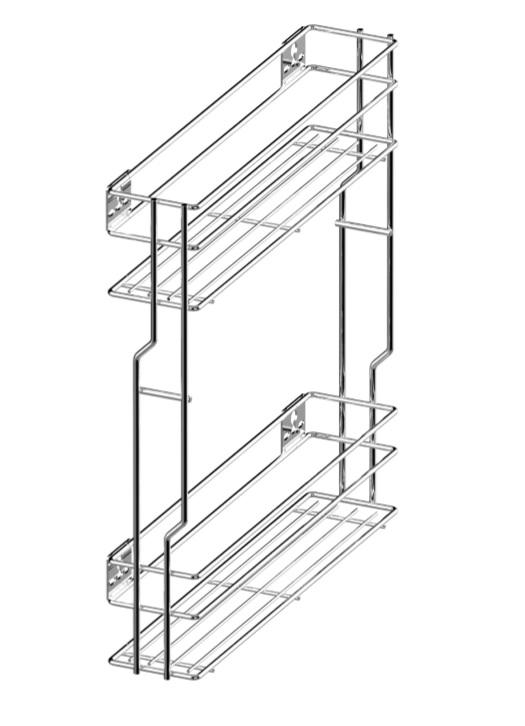variant multi cargo mini boczne 15 prawe efekt chrom push. Black Bedroom Furniture Sets. Home Design Ideas