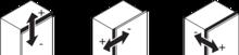 Zawias CLIP Top 110° 71B3550 HAMULEC Drzwi Standard Nakład ONYKS - Blum