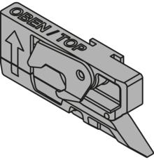 Z80.000V CABLOXX Jednostka blokująca Artykuł: prawa Materiał: tworzywo Kolor / Powierzchnia: czarna   Zamek centralny Blum oferuje szerokie...