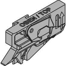 Z80.000V CABLOXX Jednostka blokująca Artykuł: lewa Materiał: tworzywo Kolor / Powierzchnia: czarna   Zamek centralny Blum oferuje szerokie możliwości...