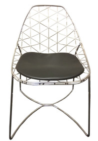 Unikalna i nowoczesna konstrukcja. Projekt włoskiego producenta DAL SEGNO.  Wymiary:  wysokość: 81 cm wysokość siedziska: 47 cm szerokość: 53 cm...