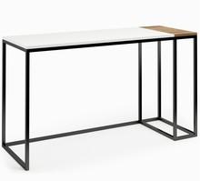LINIA CONNECT STEEL Biurko 181  Zestaw nowoczesnych, minimalistycznych mebli do pokoju dziennego idealnie komponujący się w małych pomieszczeniach....