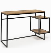 LINIA CONNECT STEEL Biurko 151  Zestaw nowoczesnych, minimalistycznych mebli do pokoju dziennego idealnie komponujący się w małych pomieszczeniach....