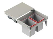 MAXIMA Szuflada z pojemnikami na odpady II 60 H=350 prowad. L400 - Rejs