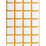 Podkładki meblowe Kwadrat 20x20 mmfilc kolor Szary  Podkładki sprzedawane w arkuszach. Ilość podkładek na arkuszu- 28 szt.