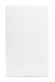 Podkładki meblowe Prostokąt 100x165 mmfilc kolor Biały