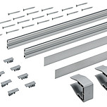 SlideLine M 2 Profile Do Płyty 18 O Długości 2500 mm  Zestaw dwóch sztuk profili do zastosowania, jako uzupełnienie w rozwiązaniach z frontami...