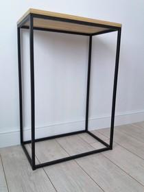 Konsola MOLLY - blat dębowy 4 cm