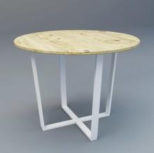 Stół FREDRIK  Nowoczesna a zarazem elegancka i prosta forma stołu idealnie wpasowuje się w nowoczesne wnętrza. Blat drewniany wykonany z litego...