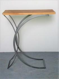 Stolik pomocnik COCON - blat sosnowy 3 cm