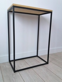 Konsola MOLLY - blat sosnowy 4 cm