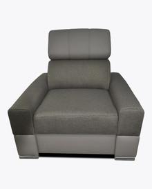 Fotel Loft 2  Elegancki wygląd fotela Loft 2, pięknie wkomponuje się w Twoje wnętrze.  Prezentowany produkt ze zdjęcia zawiera:  • Regulowane...