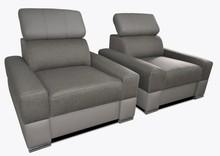 Fotel LOFT 2 z regulowanym zagłówkiem