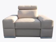 Fotel Loft  Elegancki wygląd fotela Loft , pięknie wkomponuje się w Twoje wnętrze.  Prezentowany produkt ze zdjęcia zawiera:  Materiał: ...