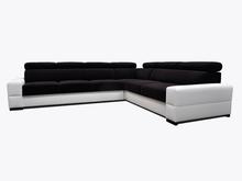 Narożnik Loft 20  Elegancki wygląd narożnika Loft 20, pięknie wkomponuje się w Twoje wnętrze.  Prezentowany produkt ze zdjęcia zawiera:  •...