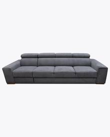 Sofa Loft 5  Elegancki wygląd sofy Loft 5, pięknie wkomponuje się w Twoje wnętrze.  Prezentowany produkt ze zdjęcia zawiera:  • regulowane...