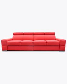 Sofa Loft 6  Nowoczesna sofa Loft 6, pięknie wkomponuje się w Twoje wnętrze.  Prezentowany produkt ze zdjęcia zawiera:  • regulowane zagłówki z...